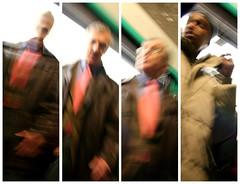 En sortant du wagon (fabbio) Tags: paris rose metro mtro 31 recomposition metroparisien mtroparisien