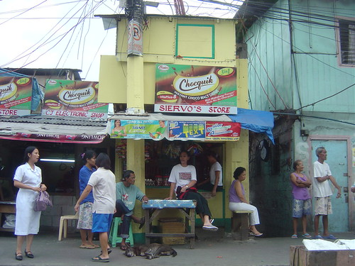 Sari-sari store front in Manila  Philippines Buhay Pinoy  Filipino Pilipino  people pictures photos life Philippinen city urban