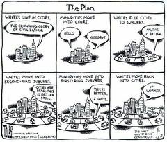 Tom Toles on Gentrification, 1998