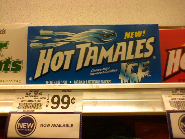New Hot Tamales Ice?