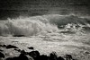 Copy of Kauai b&w02-2 (chiarina2016) Tags: kauai hawaii island beach monotone blackandwhite chiarinaloggia stormyseas waves trails hiking surf