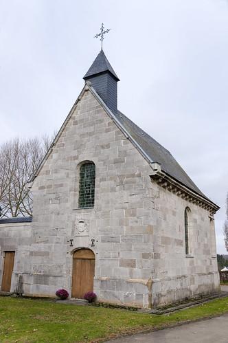 Warnant-Dreye, kapel van kasteel d'Oultremont
