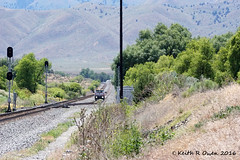 Hi-Rail Truck (youngwarrior) Tags: hirail truck up unionpacific railroad oregon