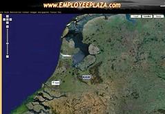 Vacatures geplaatst via Google kaart