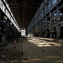 Machine Shop (sigma.) Tags: california abandoned factory military structure warehouse bayarea shipyard vallejo mareisland machineshop navalbase
