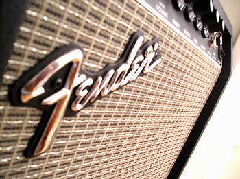 my fender guitar amp