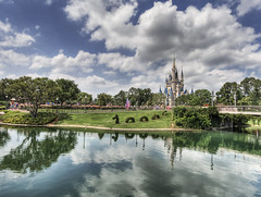 Stuck in Disney World (Stuck in Customs) Tags: park trees reflection green castle love colors grass kids clouds reflections river children fun photography orlando intense nikon stream heaven king photographer princess florida faith games images queen disneyworld fantasy jasmin destiny sultan cinderella stories hdr aladin magickingdom moster highquality stuckincustoms treyratcliff focuspocus2 millenuitetnuit sherhazade