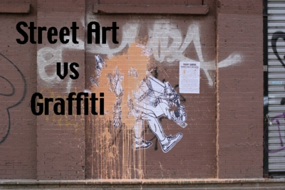 graffiti vs street art