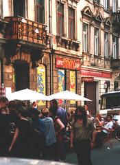 geschlossenes Café Bronxx zur BRN 1991 - zum Vergrößern anklicken