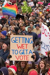 Sign, DC Voting Rights Rally, National Mall
