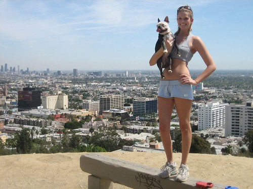 Hogwarts and I at Runyon Canyon