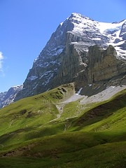 Eiger (George*50) Tags: travel mountains alps switzerland europe grindelwald eiger wengen interlaken jungfrau kleinescheidegg peopleschoice canons1is naturesfinest muren lauterbrunen