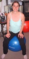 my exercise ball chair
