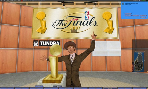 The Second Life NBA Champeen!