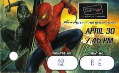 Spidey3 Ticket