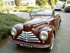 1949 Skoda 1102 Tudor Convertible (Davydutchy) Tags: netherlands classiccar czech tudor veteran skoda tatra wolfheze thebiggestgroup tvd tsjechischeveteranendag nx9304