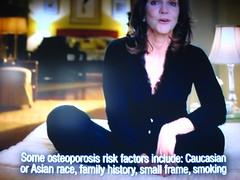Osteoporosis risk factors.