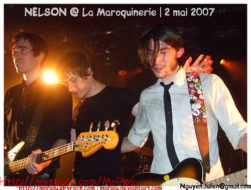 Nelson 3 Maroquinerie 2 mai 2007
