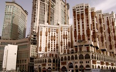 Buildings (Waseef Akhtar) Tags: travel sky sunlight buildings daylight tour cloudy bluesky makkah akhtar ksa 5starhotel waseef