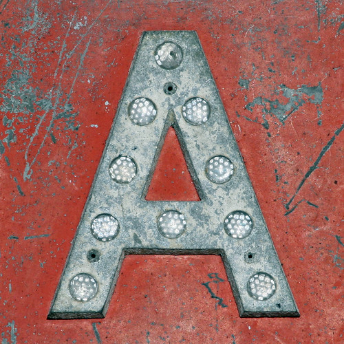 letter A by Leo Reynolds, on Flickr