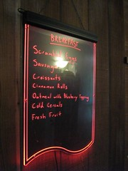 "breakfast menu • <a style=""font-size:0.8em;"" href=""http://www.flickr.com/photos/70272381@N00/485682383/"" target=""_blank"">View on Flickr</a>"