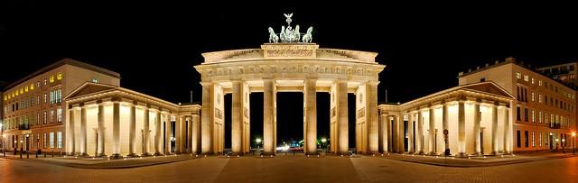 Panorama Brandenburg Gate