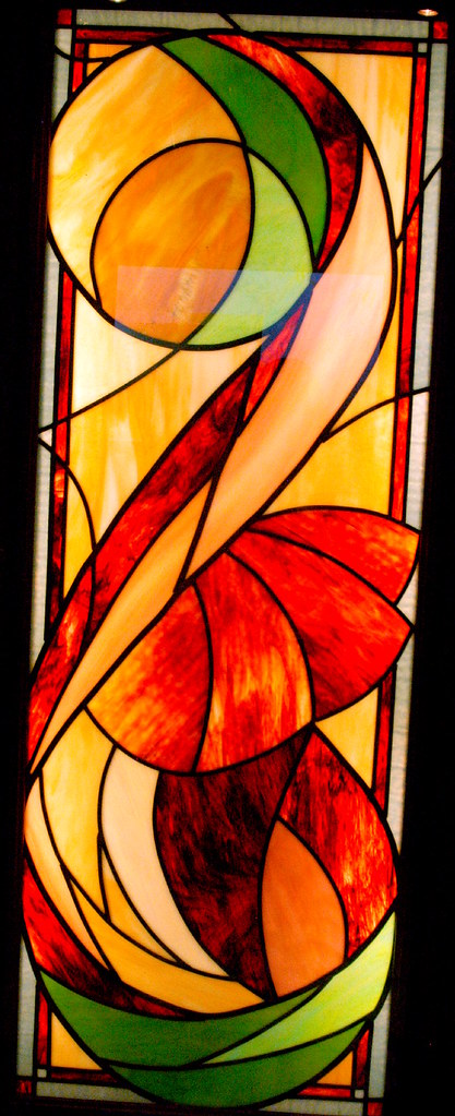 """Stained Glass Window Beauty on the royal Caribbean cruise - the Serenade of the Seas"""" """"interior Decor"""""""