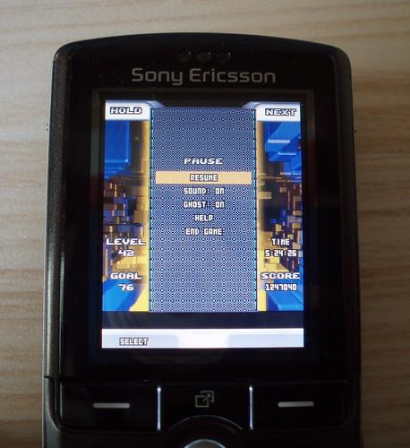 Record Tetris