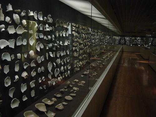 trozos de cerámica