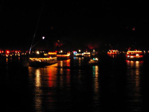 Riverboats Rhine