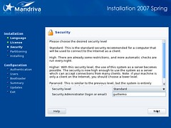 Mandriva Installation Screenshot 4