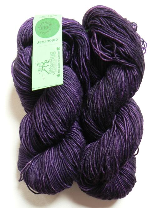 Colinette Jitterbug Velvet Bilberry