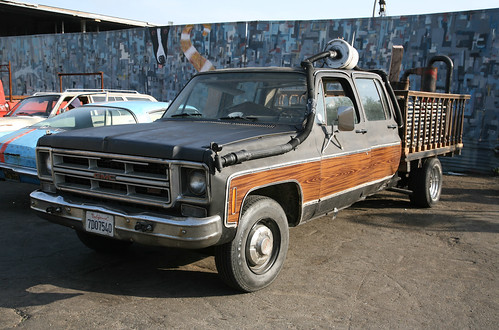 Woodgas Pickup Truck