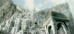 Minas Tirith from bottom