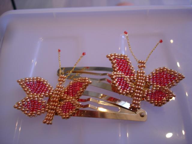 Liblikad kuld-punased