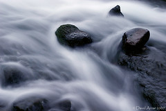 Flowing (davidarnar) Tags: longexposure blue cold wet water flow evening iceland moss rocks stream soft long stones flowing suurland awesomenature