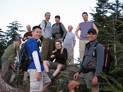 Group summit shot