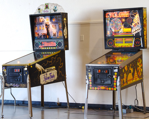 Restored Pinball Machines