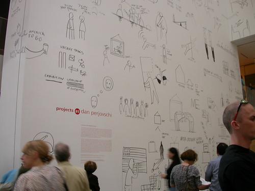 MoMA, Dan Perjovschi