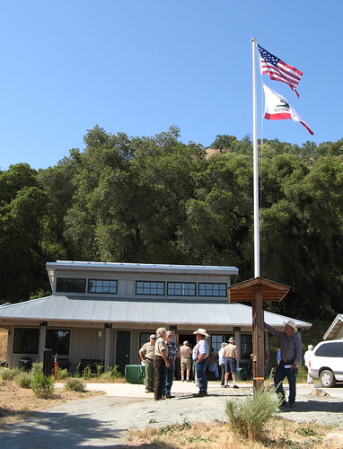 The new visitors center