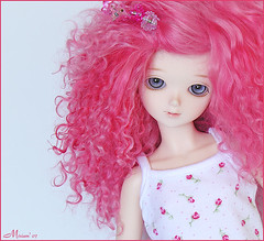 Little strawberry (MiriamBJDolls) Tags: doll matilda bjd sarang msd bluefairy tinybear tinyfairy littlestrawberry