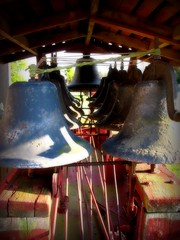 A Wagon Full of Bells (Megan | When Harry Met Salad) Tags: bells rural wagon photo currituck curritucknc ruralnc northeasternnc