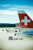 (frischmilch) Tags: travel red plane airplane schweiz switzerland airport suisse swiss zurich airline vehicle flughafen zurichairport zrh swissinternationalairlines whitecross staralliance swissairlines swissport ci33 gettyvacation2010