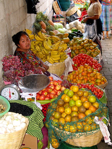 Antigua's Market Fruit and Vegetable Stand