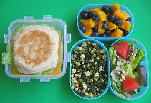 Quick spinach lunches & recipe