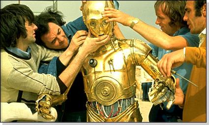 idiotas_los planos de la estrella de la muerte estan en el otro droide