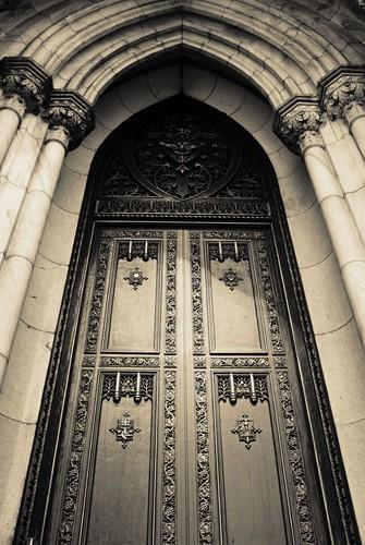 St. Patrick's: Door Detail
