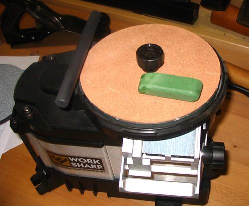 Honing wheel