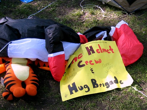 The Deflated Hug Brigade