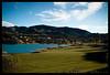 Lake Las Vegas (Ledio (mostly away)) Tags: lake nature d50 landscape nikon desert lasvegas resort oasis lakelasvegas beautifulday nikkor1855mm peisazh nikonstunninggallery piesazh